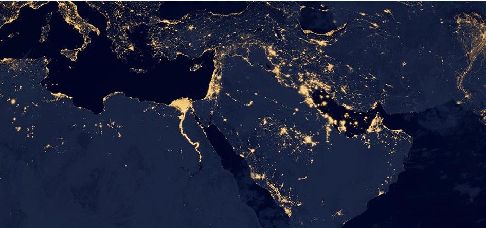 تصویری از خاورمیانه