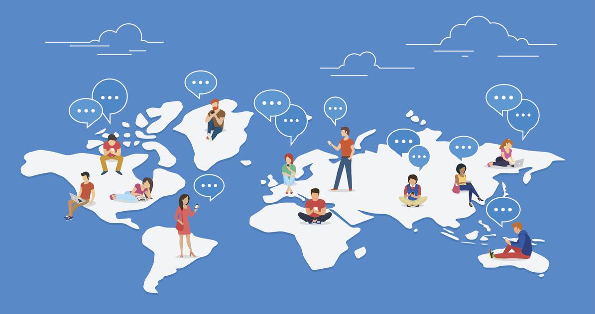 Different languages around the world