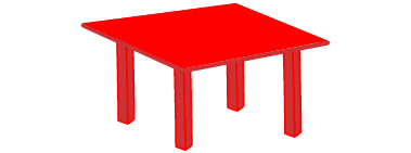 I like the color of this table